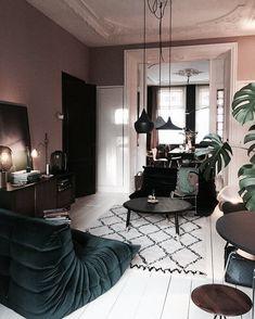 pinterest: @isabubs Interior Styling, Home Interior Design, Landscape Illustration, Illustration Art, Charles & Ray Eames, Ligne Roset, Bunt, Piece A Vivre, Art Music
