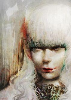 Maria Menshikova(Мария Меньшикова)... | Kai Fine Art