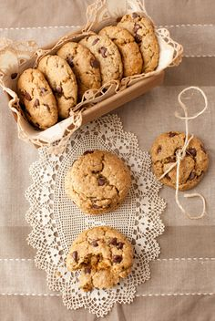 Oatmeal Chocolate Chip Cookies with Flax, Chia and Hemp Seeds - It can't be better than this