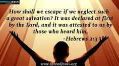 The Mind of Christ - Hebrews 2:3 (Our Salvation Is Great)