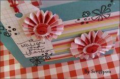 A lovely card by Scrapou