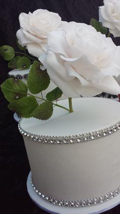 How to make a realistic flower paste, gumpaste rose leaf