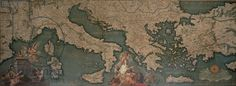 Map of Italy, Greece and Asia Minor