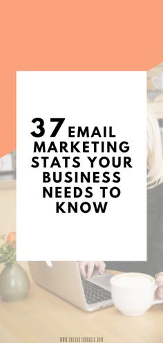37 Email Marketing Stats Your Business Needs To Know | Thinking email marketing is not for you? Think again my friend! These 37 stats will show you exactly why you should be focusing on email just as much, if not more than #socialmedia. #marketing #digitalmarketing #emailmarketing #email email marketing info, email marketing strategy, email marketing roadmap, email marketing game plan, digital marketing, marketing stats
