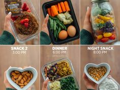3 Sample Meal Prep Diaries Full of Food Ideas - MeowMeix Easy Healthy Dinners, Nutritious Meals, Dinner Recipes For Kids, Kids Meals, Diet Meal Plans, Meal Prep, Healthy Recipe Videos, Healthy Recipes, Yummy Snacks