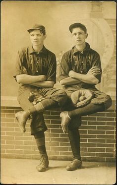 G.H.S. Baseball Players, c. late 19th century