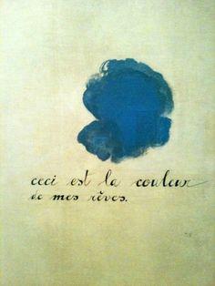 Joan Miró, ceci est la couleur de mes rêves 1925
