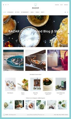 Bazar is a wonderful premium #WordPress template for #food & #recipe bloggers with WooCommerce shop integrated download now➯ https://themeforest.net/item/bazar-blog-store-wordpress-theme/16269688?ref=Datasata