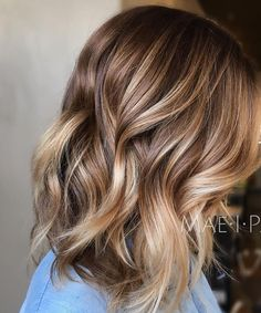 Trendy Hair Highlights : 2017 Highlights and Lowlights for Light Brown Hair   New Hair Color Ideas &