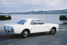 Ford Mustang 1965 289 Coupe at the Harbour, Broughty Ferry, Dundee, Scotland by Alex Fearn, via Flickr