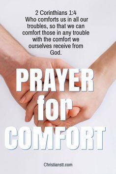 Prayer For Comfort
