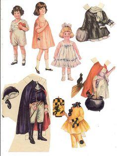 Polly pratt paper dolls - 2