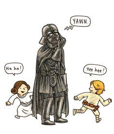 Já é hora de domir na Galáxia Star Wars e as competências parentais de Darth Vader são testadas novamente neste delicioso novo livro!  Goodnight Darth Vader disponível na Casa Ruim! http://casaruim.com/produto/goodnight-darth-vader/