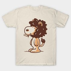 Snoop-Lion T-Shirt - Snoopy T-Shirt is $14 today at TeePublic!