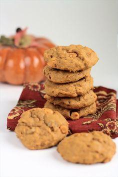 Butterscotch Pumpkin Pudding Cookies