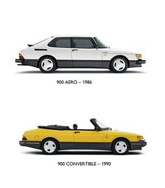1986 Saab 900 Aero & 1990 Saab 900 Convertible