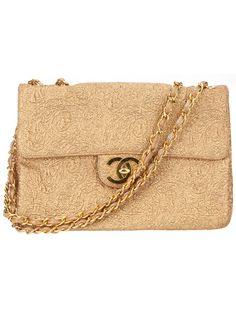 CHANEL VINTAGE - Large Shoulder Bag