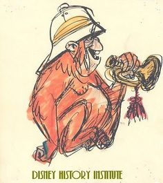 KEN ANDERSON for jungle book Animation Sketches, Animation Film, Disney Animation, What A Cartoon, Ken Anderson, Action Pictures, Disney Animated Films, Color Script, Disney Artists