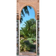 Vinilo para puerta sea view decoraci n pinterest for Fenetre orientale