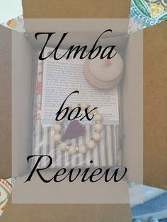 Alone with my tea: My second umba box || review