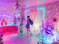 90s bedroom woman tween says vaporwave