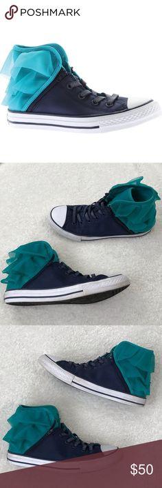 8c67f67d52e ⬇  64 Rare Converse Block Party Hightop Sneaker WORN TWICE!!! No real