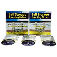 Self Storage Investing Riches Real Estate Coaching, Real Estate Investing, Real Estate Book, Self Storage, Learning Centers