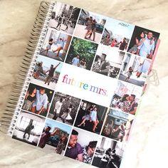 Love my new @erincondren wedding planner cover! #emmasplanner #panduhsengaged