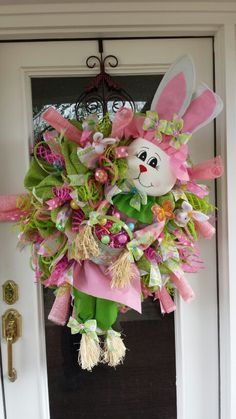 Easter Wreath ~ For a big entrance way.
