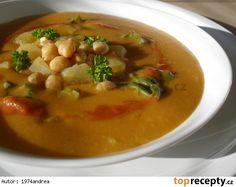 Cizrnovo - bramborová polévka s chutí Orientu ( vydatná)