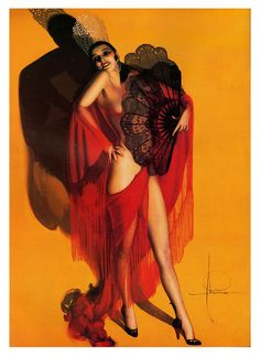 Carmen (1929) by Rolf Armstrong