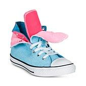 Converse Girl's Shoes, Chuck Taylor Two Fold Casual Sneakers
