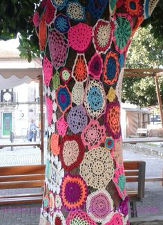 Knitting urban art Sur de Portugal