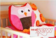 Here is where you can find the original project tutorial for the Snuggly Owl on www.weallsew.com #myWASowl
