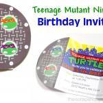 Teenage Mutant Ninja Turtle (TMNT) Birthday Party