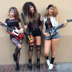 Pin for Later: 69 Sexy Costume Ideas For Your Hottest Halloween Yet Glam Rockers