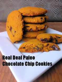 Real Deal Chocolate Chip Cookies {Paleo Recipe} Having tried dozens of chocolate chip recipes, we've settled on these as the best. www.mapleleafmommy.com