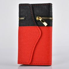 Big Mango Multipurpose Flip Folio Leather Case / Wallet Cover for Apple iPhone 5 5s with ID Card Holders & Detachable Hand Strap & Zipper Purse & Magnet Closure ( Black + Red ) Big Mango http://smile.amazon.com/dp/B00HI7S4H4/ref=cm_sw_r_pi_dp_nokMtb0JGM6NBJQC