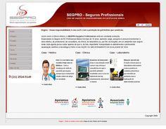 WS AGENCIA DIGITAL - Site desenvolvido para a SEG PRO -