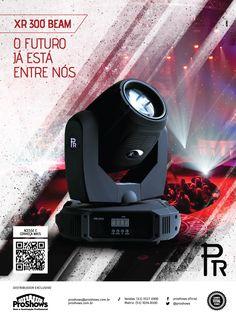 Anúncio para revista // Cliente: Pr Lighting (Proshows) // Agência: ACME Propaganda // Criação: Bruno Knop