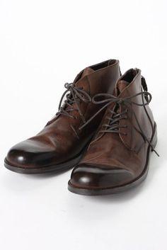 EDIFICE PADRONE EX Chucker Boots Back Zip