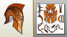 Image result for pepakura deathstroke helmet