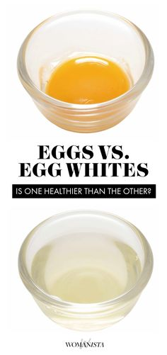 Is replacing your eggs with egg whites actually healthier, or a waste of time? Womanista.com