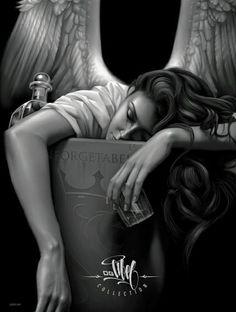 Fallen Forgettable Angel .