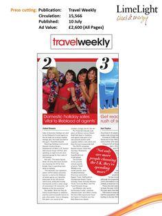 10 July - Travel Weekly - Brits