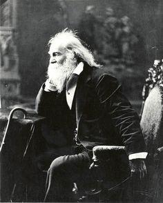 Walt Whitman: love the facial hair