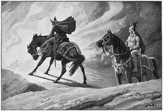 Sigurd el poderoso, muerte extraña donde las hayan... http://historiasdelahistoria.com/2012/04/10/cuidado-con-los-trofeos-de-guerra-si-tu-enemigo-no-se-ha-lavado-los-dientes/
