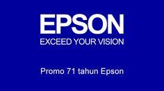 Menangkan voucher belanja Carrefour/Matahari senilai total Rp600.000 dan 2 buah paket hadiah menarik senilai Rp100.000,- dengan mengikuti promo 71 tahun Epson.