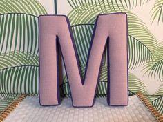 Holzbuchstaben - *missmatilda* Buchstabe M - ein Designerstück von missmatilda bei DaWanda
