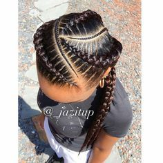 I want Ghana braids for my hairstyle 😍🔥